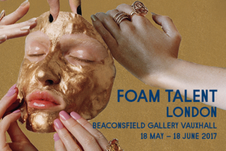 <p>18/05/17 – 18/06/17 </p> <p>FOAM TALENT EXHIBITION at Beaconsfield Gallery Vauxhall, London <br> Opening 17/05/17, 6.30pm</p>